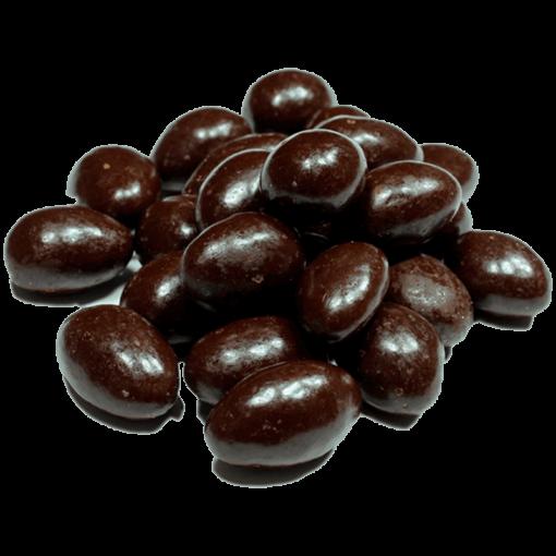 Almendra con Chocolate Obscuro Sin Azúcar - 1 kg